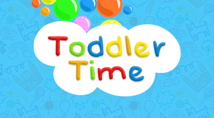 screenshot from Toddler Time video